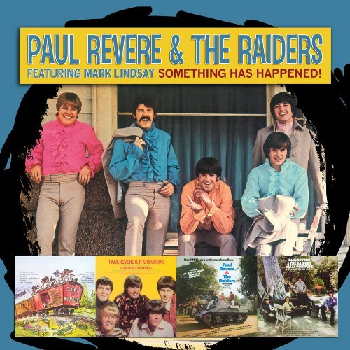 Paul & The Raiders Feat Revere Something Happening 1967 1969 2 CD