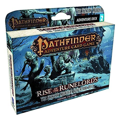 Mike Selinker Pathfinder Adventure Card Game Rise Of The Runelords Deck 2 The Skinsaw Murder