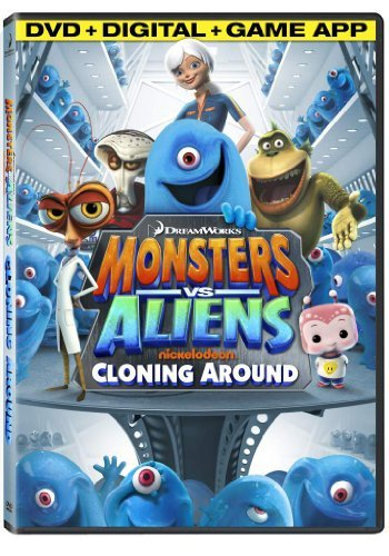 Monsters Vs. Aliens Cloning Around DVD Nr Ws