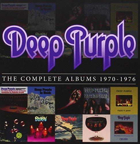 Deep Purple Complete Albums 1970 1976 (box 10 CD