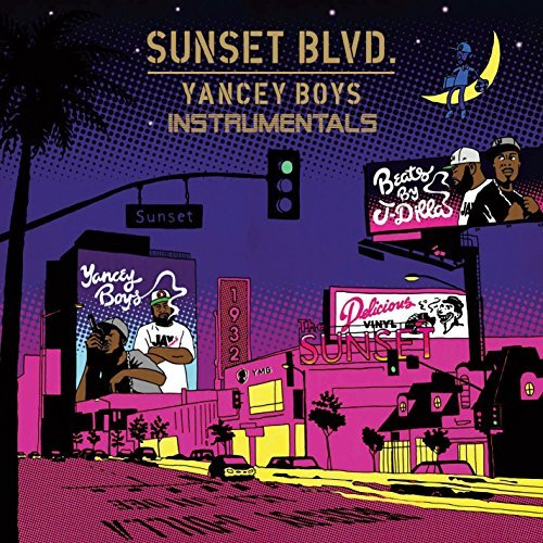 Yancey Boys Sunset Blvd. Instrumentals 2 Lp