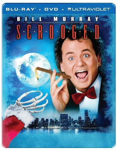 Scrooged Murray Allen Forsythe Blu Ray Ws Steelbook 25th Pg13 Uv