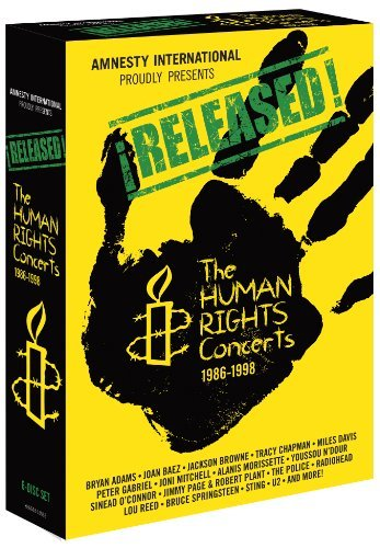 Human Rights Concerts 1986 199 Released The Human Rights Conc 6 DVD
