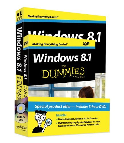 Andy Rathbone Windows 8.1 For Dummies [with Dvd]