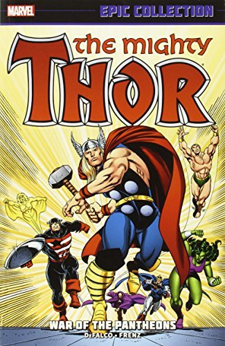 Tom Defalco Thor Epic Collection Volume 16 War Of The Pantheons