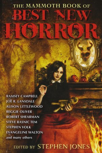 Stephen Jones The Mammoth Book Of Best New Horror Volume 24