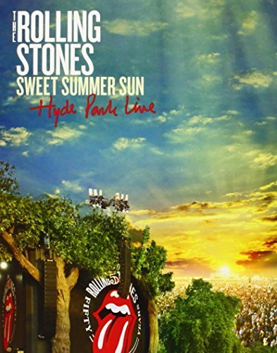 Rolling Stones Sweet Summer Sun Hyde Park Liv Blu Ray