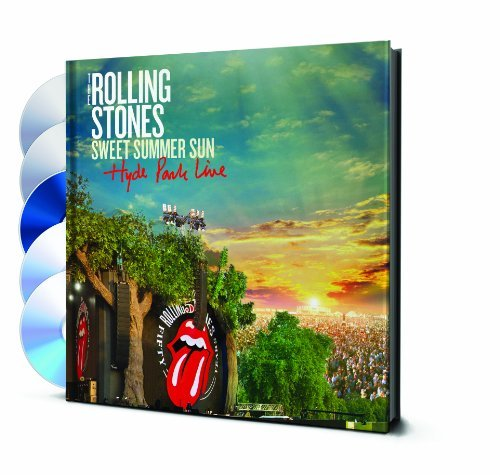 Rolling Stones Sweet Summer Sun Hyde Park Liv Blu Ray DVD Br 2 CD