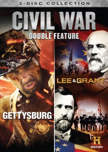 Gettysburg Lee & Grant Double Feature Civil War Nr 2 DVD