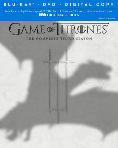 Game Of Thrones Season 3 Blu Ray Nr Ws
