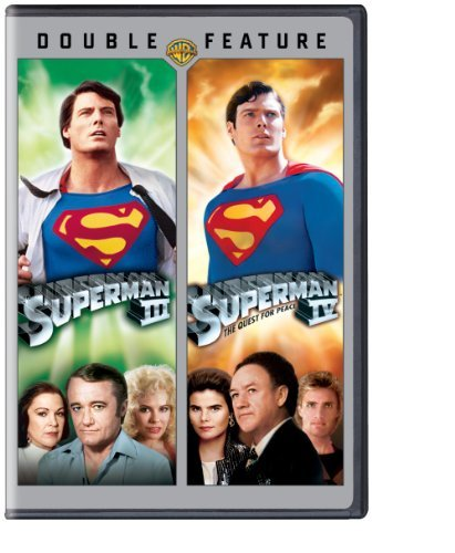 Superman 3 Superman 4 Double Feature Nr