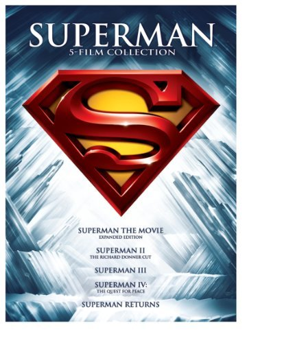 Superman 5 Film Collection DVD Pg