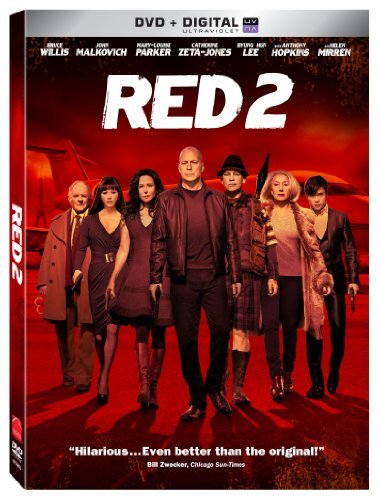 Red 2 Willis Mirren Malkovich DVD Pg13