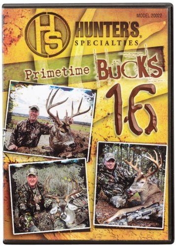 Hunter's Specialties Inc. Primetime Bucks 16 DVD