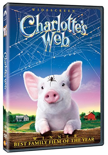 Charlotte's Web (2006) Redford Cleese Fanning Bates DVD G Ws