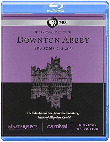 Downton Abbey Seasons 1 3 Blu Ray Nr Ws