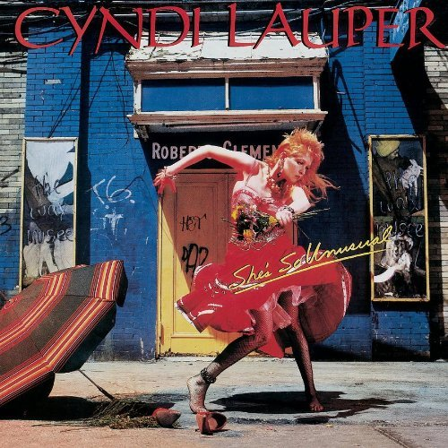 Cyndi Lauper She's So Unusual Remastered Incl. Bonus Tracks