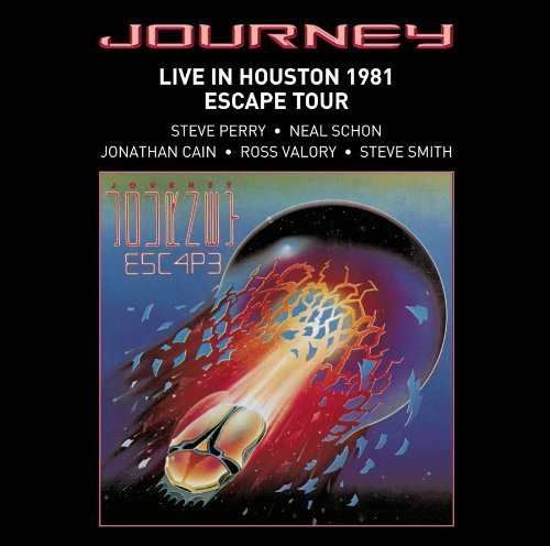Journey Live In Houston 1981 Escape T
