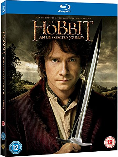 The Hobbit An Unexpected Journey (blu Ray) Ian Mc Mckellen Freeman Armitage