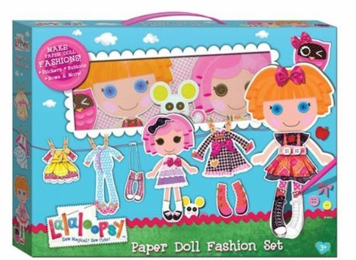 Toy Lalaloopsy Paper Doll Fashion Set