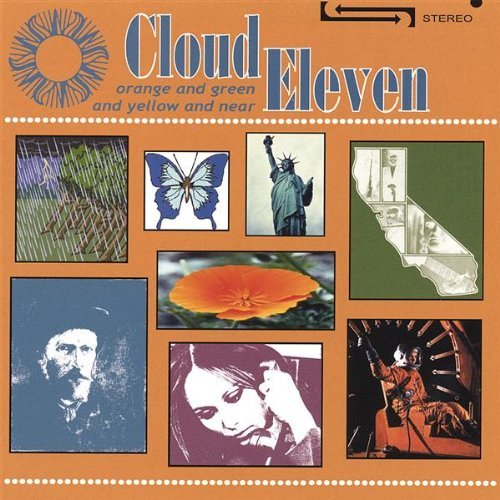 Cloud Eleven Orange & Green & Yellow & Near