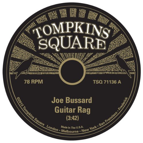 Joe Bussard Guitar Rag Screwdriver Slide 7 Inch Single