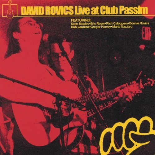 David Rovics Live At Club Passim