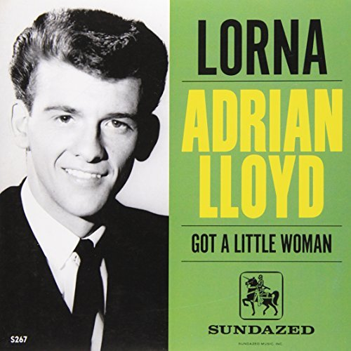 Adrian Lloyd Lorna 45 7 Inch Single