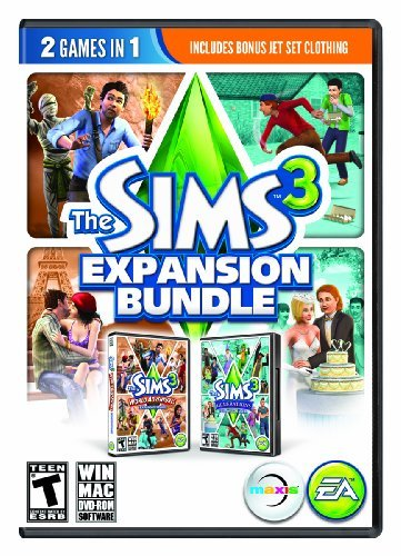 Pc Games Sim 3 Expansion Ppack Bundle Electronic Arts T