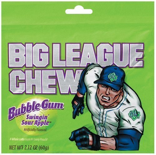 Candy Big League Chew Sour Apple