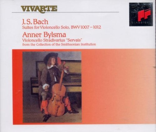 Anner Bylsma Bach The Six Unaccompanied Ce Import Gbr 2 CD