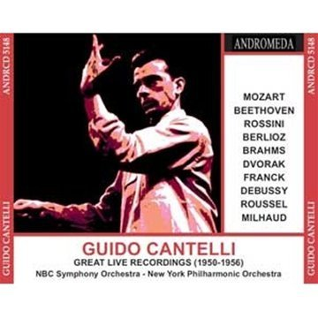 Guido Cantelli Great Live Recordings 1950 56 5 CD