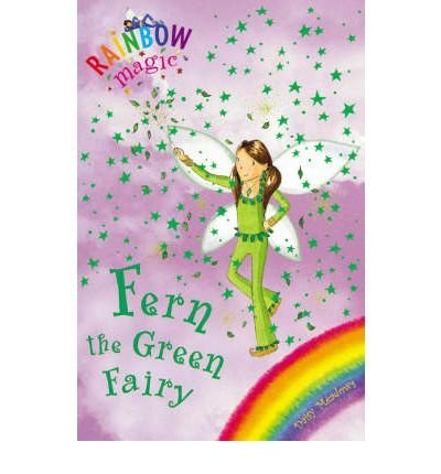Daisy Meadows Fern The Green Fairy Rainbow Magic #4