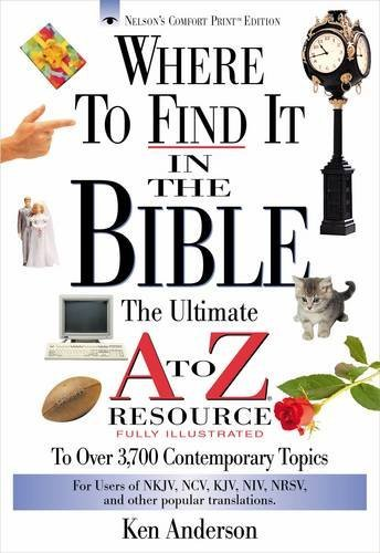 Ken Anderson Where To Find It In The Bible