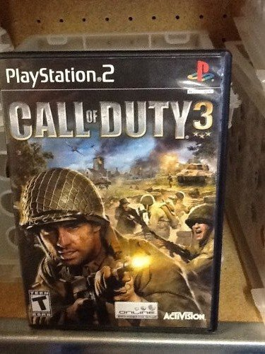 Ps2 Call Of Duty 3