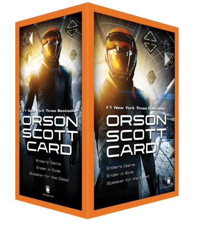 Orson Scott Card Ender's Game Boxed Set Ii Ender's Game Ender In Exile Speak For The Dead Media Tie In
