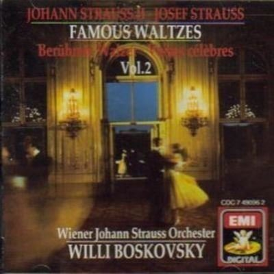 Johann Strauss Josef Strauss Willi Boskovsky Vienn Willi Boskovsky Conducts Famous Waltzes Of Johann