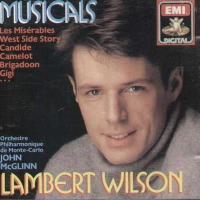Various Lambert Wilson Sings Musical Comedy