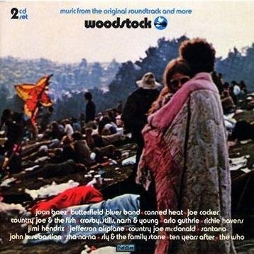 Various Woodstock Music From The Original Soundtrack 2 CD 2 CD Set