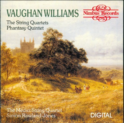 Vaughan Williams The String Quartets; Phantasy Qu Phantasy Quintet