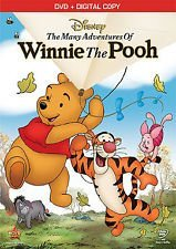 The Many Adventures Of Winnie The Pooh DVD + Dig