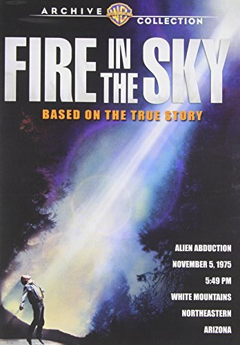 Fire In The Sky Fire In The Sky DVD R Pg13