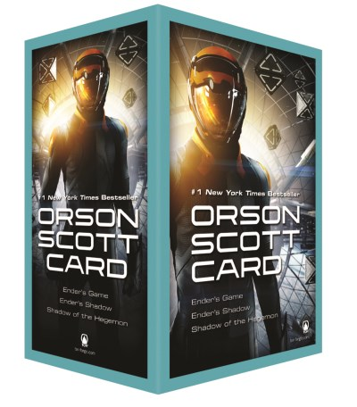 Orson Scott Card Ender's Game Boxed Set I Ender's Game Ender's Shadow Shadow Of The Hegem Media Tie In