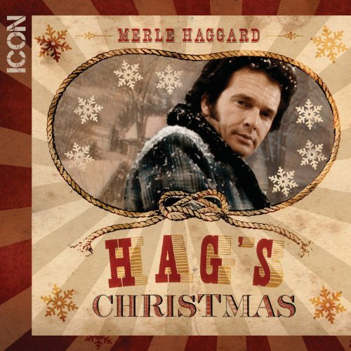 Merle Haggard Icon Christmas