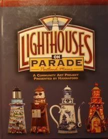 Lou Ann Benigni Lighthouses On Parade Portland Maine Community Art Project Presented By Hannaford