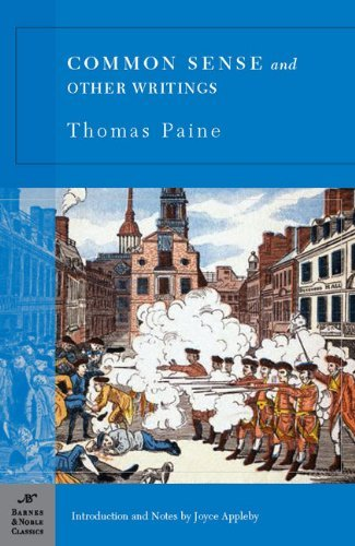 Thomas Paine Common Sense And Other Writings