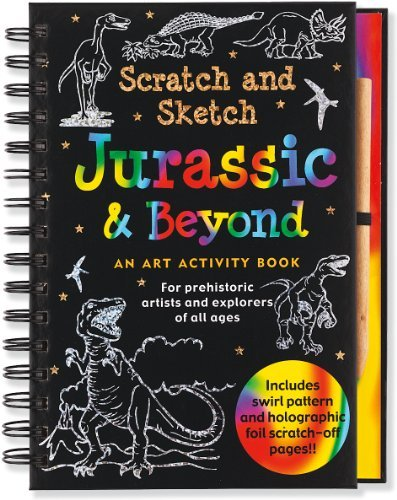 Peter Pauper Press Jurassic & Beyond An Art Activity Book For Prehistoric Artists And