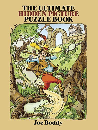 Joe Boddy The Ultimate Hidden Picture Puzzle Book