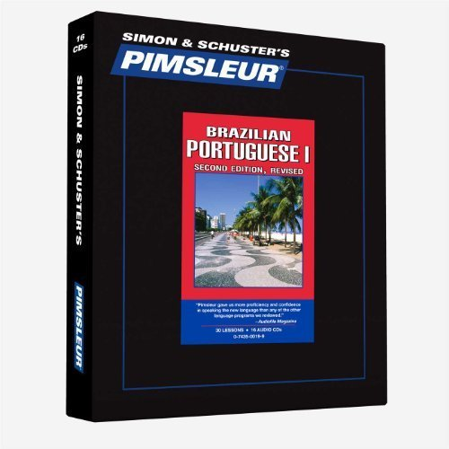 Pimsleur Pimsleur Portuguese (brazilian) Quick & Simple Cou Learn To Speak And Understand Brazilian Portugues 0002 Edition;edition Revise