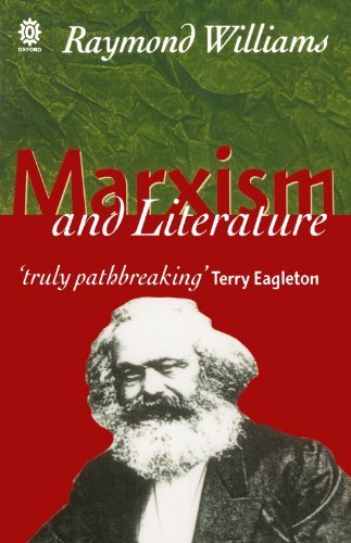 Raymond Williams Marxism And Literature Revised